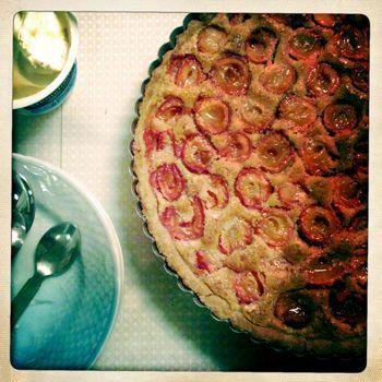 Blommetærte